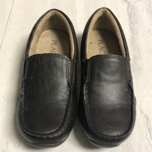 Brown-Children's Place Boys Dress shoe. Never worn